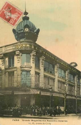 """CPA FRANCE 75017 """"Paris, les Galeries Lafayette, avenue de Clichy"""""""