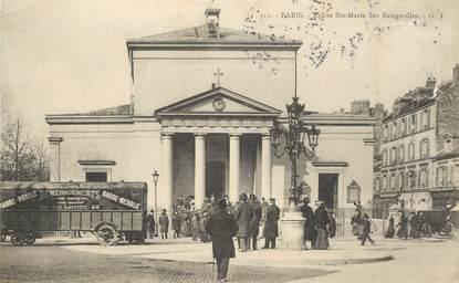 """CPA FRANCE 75017 """"Paris, Eglise Sainte Marie des Batignolles"""""""