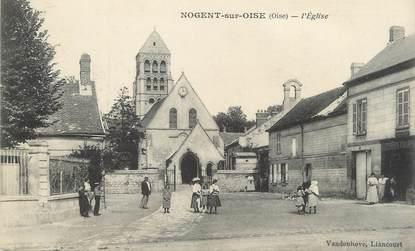 """/ CPA FRANCE 60 """"Nogent sur Oise, l'église"""""""