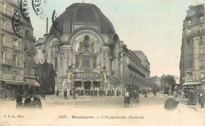 """CPA FRANCE 75018 """"Paris Montmartre, l'Hyppodrome"""""""