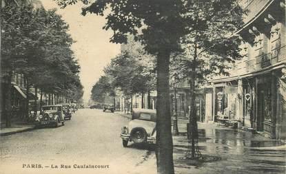 """CPA FRANCE 75018 """"Paris, la rue Caulaincourt"""""""