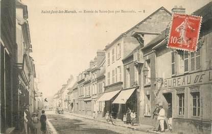 """/ CPA FRANCE 60 """"Saint Just Les Marais, entrée de Saint Just par Beauvais"""""""