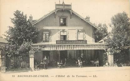 """/ CPA FRANCE 61 """"Bagnoles de l'Orme, l'hôtel de la Terrasse"""""""