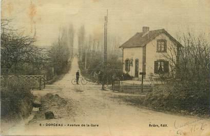 """/ CPA FRANCE 61 """"Dorceau, av de la gare"""""""