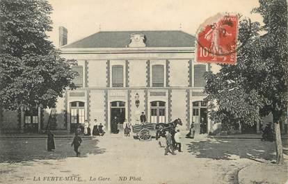 """/ CPA FRANCE 61 """"La Ferté Macé, la gare"""""""