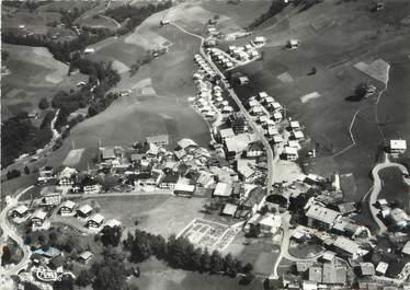 """/ CPSM FRANCE 73 """"Arèches, vue générale aérienne et la village du Praz"""""""