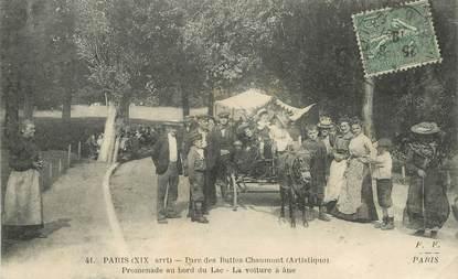 """CPA FRANCE 75019  """"Paris, Parc des Buttes Chaumont"""""""