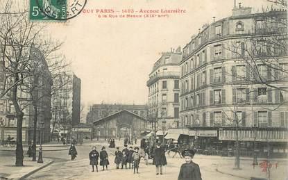 """CPA FRANCE 75019  """"Paris, l'avenue Laumière"""""""