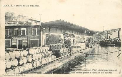 """CPA FRANCE 75019  """"Paris, Porte de la Villette"""""""