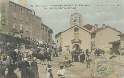 """CPA FRANCE 43 """"Allègre, la Chapelle ND de l'Oratoire"""""""