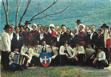"/ CPSM FRANCE 73 ""Chambéry"" / GROUPE FOLKLORIQUE"