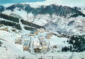 """73 Savoie / CPSM FRANCE 73 """"Courchevel , vue aérienne, quartier du Plantret"""""""