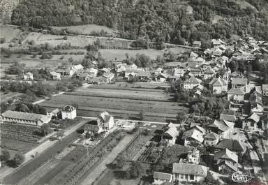 """/ CPSM FRANCE 73 """"Chamoux, vue panoramique aérienne"""""""