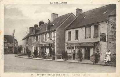 """/ CPA FRANCE 61 """"Juvigny sous Andaine, la place"""""""