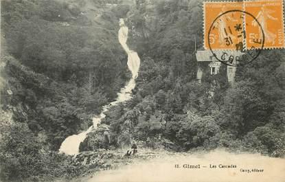 "CPA FRANCE 19 ""Gimel, les Cascades"""