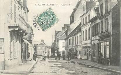 "/ CPA FRANCE 61 ""Le Merlerault, grande rue"""