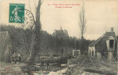"""/ CPA FRANCE 61 """"Château de Montuel"""""""