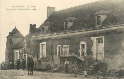 """/ CPA FRANCE 61 """"Origny le Butin, ferme de la Brumansière"""""""