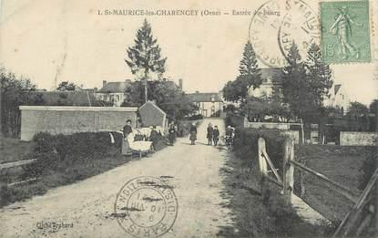 """/ CPA FRANCE 61 """"Saint Maurice Les Charencey, entrée du bourg"""""""