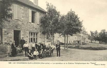 """CPA FRANCE 43 """"Le Chambon sur Lignon"""""""