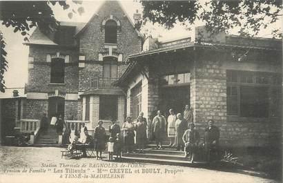 """/ CPA FRANCE 61 """"Bagnoles de l'Orne, pension de famille les Tilleuls"""""""