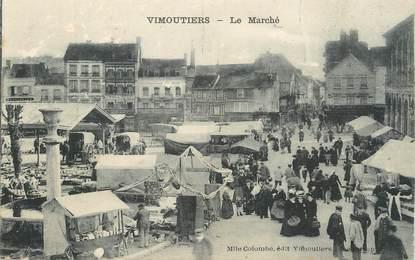 """/ CPA FRANCE 61 """"Vimoutiers, le marché"""""""
