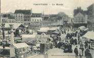 """61 Orne / CPA FRANCE 61 """"Vimoutiers, le marché"""""""