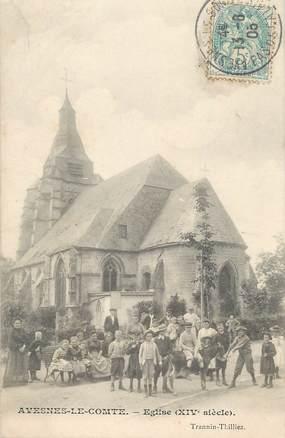 """/ CPA FRANCE 62 """"Avesne Le Comte, église"""""""