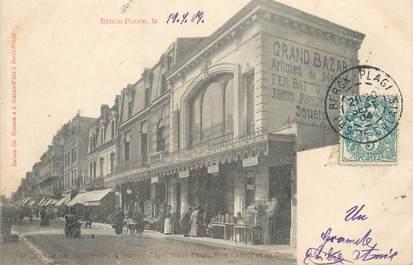 """/ CPA FRANCE 62 """"Berck Plage, rue Carnot et le bazar"""""""