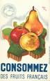 Theme CPA PUBLICITE / Consommez des fruits français !