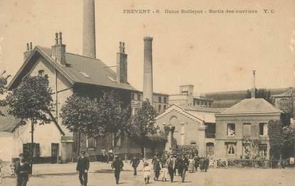 "/ CPA FRANCE 62 ""Frévent, usine Rollepot"""