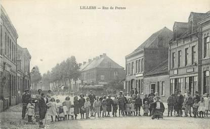 """/ CPA FRANCE 62 """"Lillers, rue de Pernes"""""""
