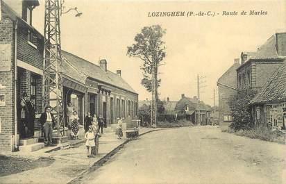 """/ CPA FRANCE 62 """"Lozinghem, route de Marles"""""""