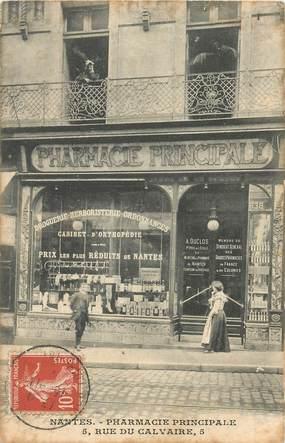 "CPA  FRANCE 44 ""Nantes, la pharmacie principale, rue du calvaire"""