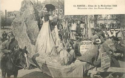 """CPA  FRANCE 44 """"Nantes, les Fêtes de la Mi Carême 1928, Bécassine"""""""