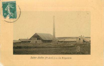 """/ CPA FRANCE 62 """"Saint Aubin, la briqueterie"""""""