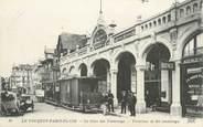 """62 Pa De Calai / CPA FRANCE 62 """"Le Touquet Paris Plage, la gare des Tramways"""""""