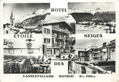 """/ CPSM FRANCE 73 """"Lanlevillard, hôtel Etoile des Neiges"""""""