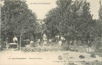"""/ CPA FRANCE 30 """"Les Fumades, maison Faussigne"""""""