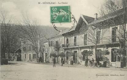 """/ CPA FRANCE 30 """"Génolhac, le châlet"""""""
