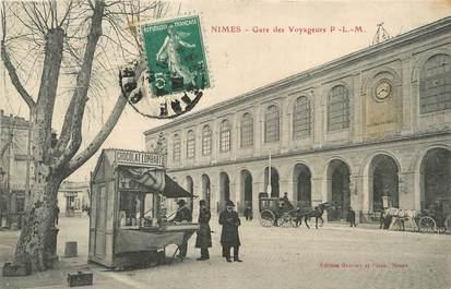"/ CPA FRANCE 30 ""Nîmes, gare des voyageurs"""