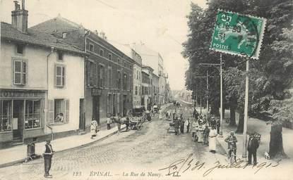 "CPA FRANCE 88 ""Epinal, la rue  de Nancy"""