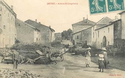 """CPA FRANCE 88 """"Jeuxey, avenue de  Longchamp"""""""