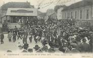 "88 Vosge CPA FRANCE 88 ""Gérardmer, cavalcade du 13 avril 1914, groupe musical"""
