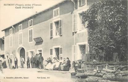 "CPA FRANCE 88 ""Naymont, le café Poirot"""