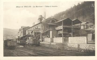 """/ CPA FRANCE 30 """"Mines de Trelys, le Martinet, usines à boulets"""""""
