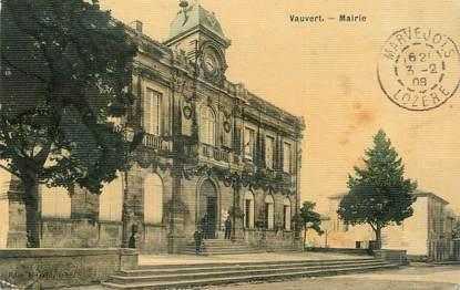 "/ CPA FRANCE 30 ""Vauvert, mairie"""