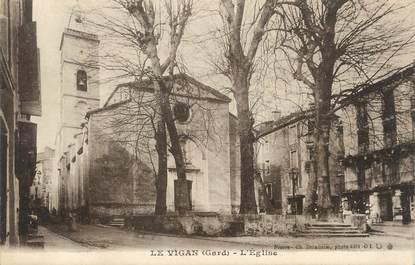 """/ CPA FRANCE 30 """"Le Vigan, l""""église"""""""