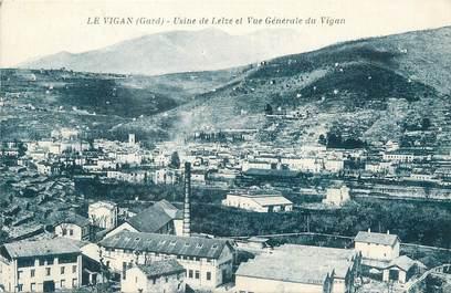 """/ CPA FRANCE 30 """"Le Vigan, usine de Lelze et vue générale du Vigan"""""""