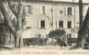 """30 Gard / CPA FRANCE 30 """"Le Vigan, maison de repos, cour intérieure"""""""
